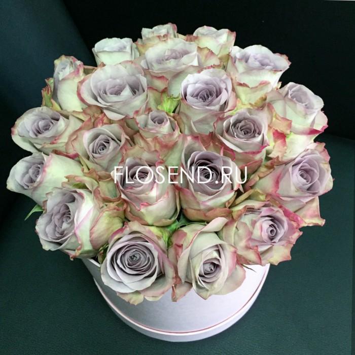 Цветы в коробке № 243