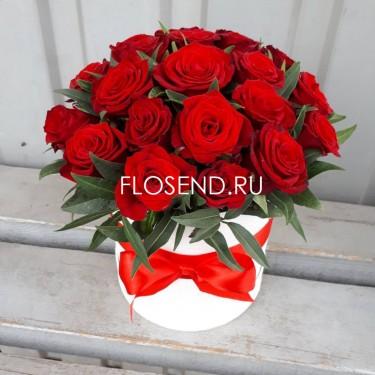 Цветы в коробке № 228